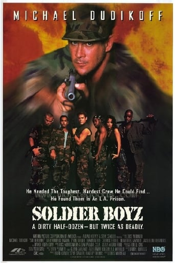 Poster of Soldier Boyz