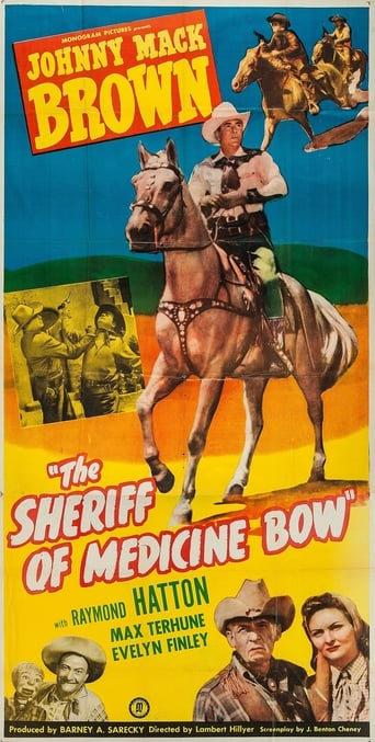 Poster of The Sheriff of Medicine Bow