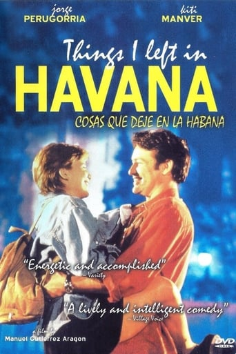 Poster of Things I Left in Havana