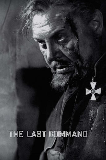 Poster of The Last Command