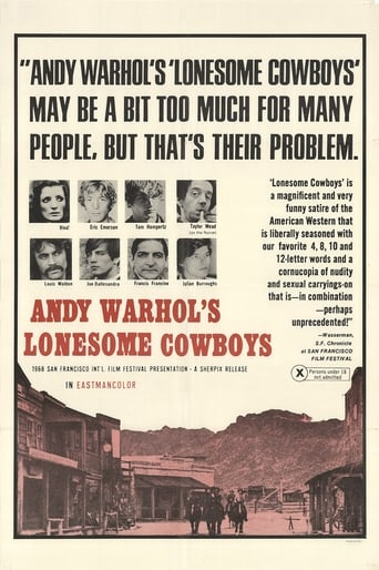 Poster of Lonesome Cowboys