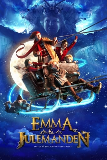 Poster of Emma og Julemanden - Jagten på Elverdronningens hjerte