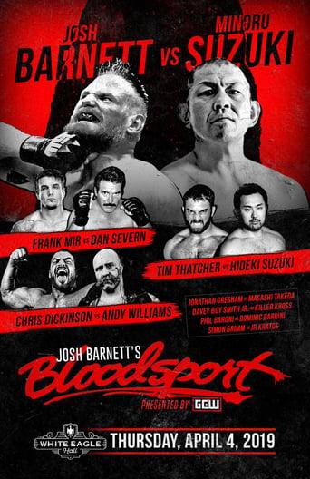 Poster of Josh Barnett's Bloodsport