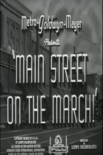 Main Street on the March! Movie Poster