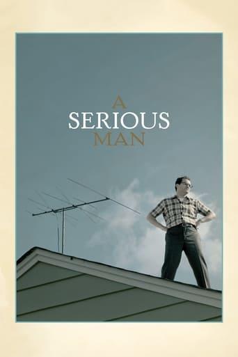 Um Homem Sério - Poster