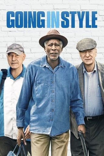 Official movie poster for Going in Style (2017)