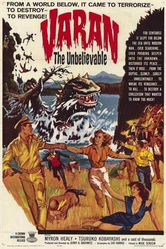 Poster of Varan the Unbelievable