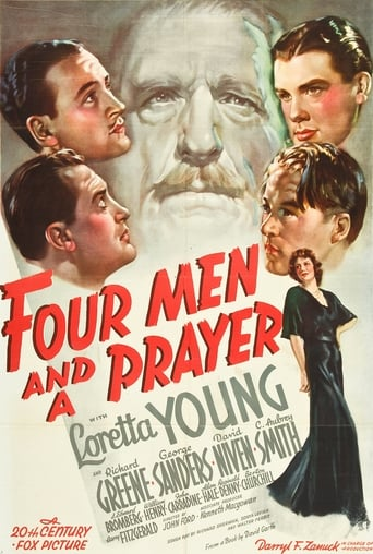 Poster of Four Men and a Prayer