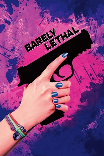 Barely Lethal (2015) - poster