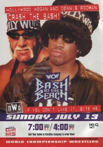 Poster of WCW Bash at the Beach 1997