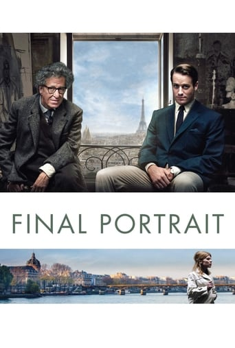 Poster of Final Portrait - L'arte di essere amici