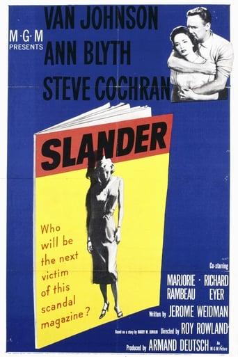 Poster of Slander