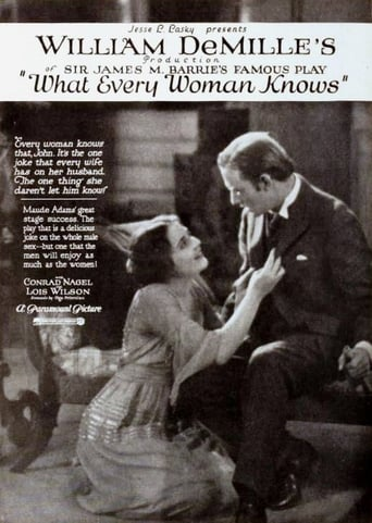 What Every Woman Knows Movie Poster