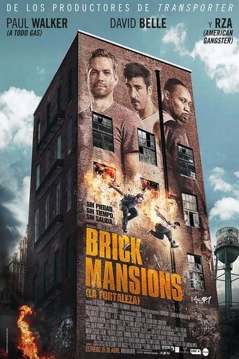 Poster of Brick Mansions (La fortaleza)