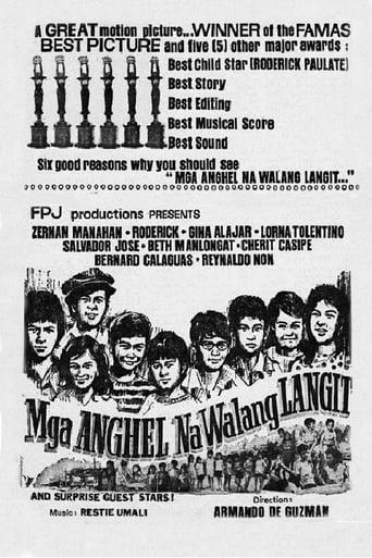 Poster of Mga Anghel Na Walang Langit