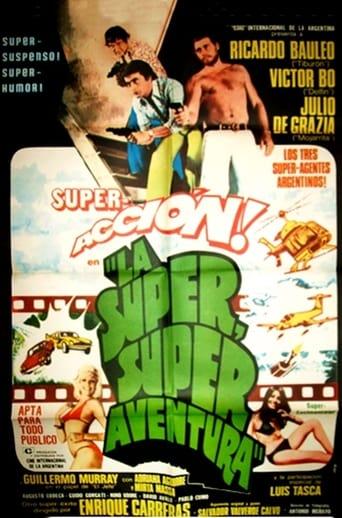Poster of The Super Super Adventure