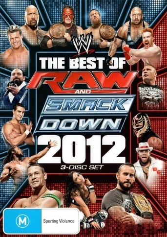 Poster of WWE: The Best of Raw & SmackDown 2012