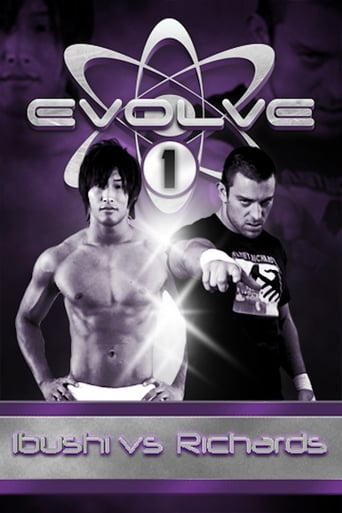 Poster of Evolve 1: Ibushi vs. Richards