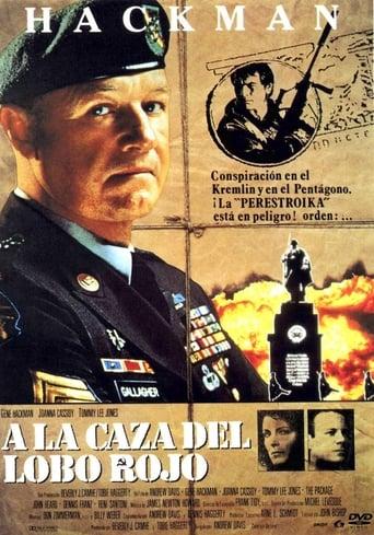 Poster of A la caza del lobo rojo