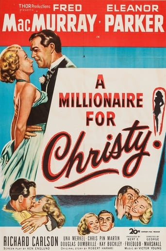 Poster of A Millionaire for Christy