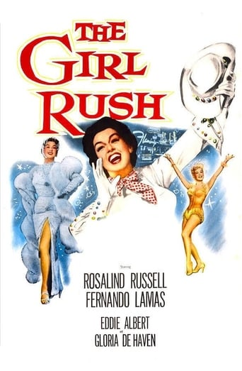 Poster of The Girl Rush