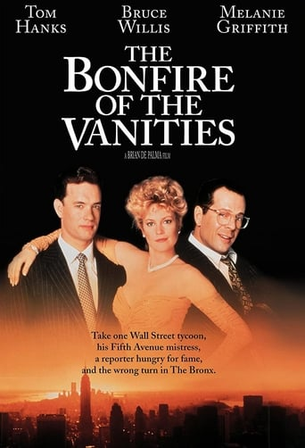 Poster of The Bonfire of the Vanities