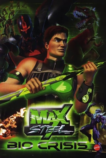 Poster of Max Steel Bio crisis
