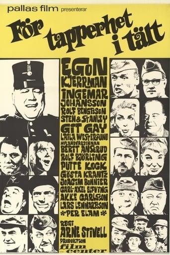 Poster of För tapperhet i tält