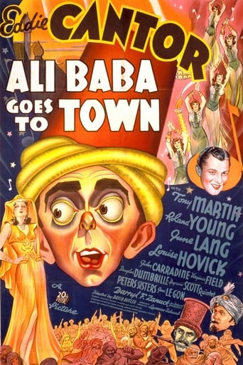 Poster of Ali Baba Goes To Town