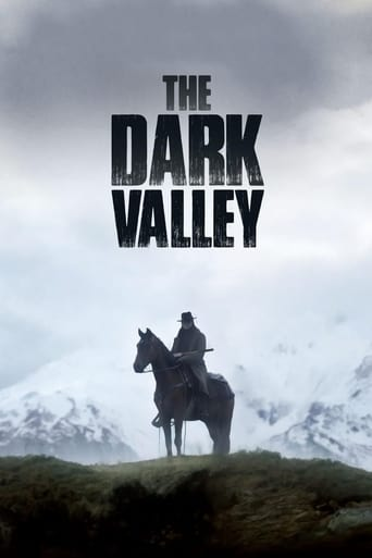 Poster of The Dark Valley