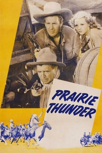 Poster of Prairie Thunder