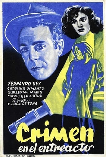 Poster of Crimen en el entreacto