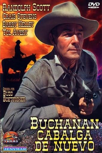 Poster of Buchanan cabalga de nuevo
