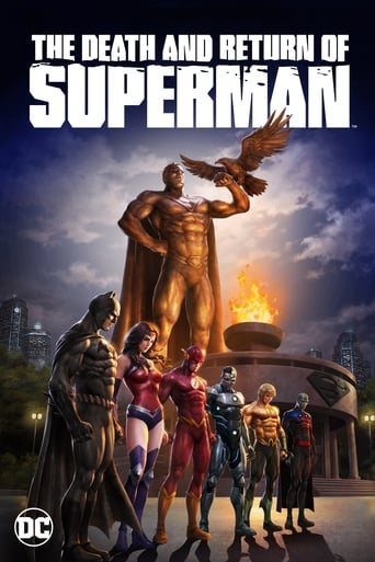 The Death and Return of Superman Poster