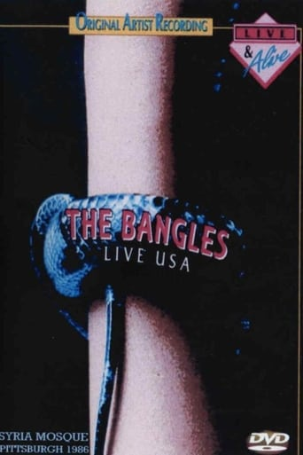 Poster of The Bangles Live at the Syria Mosque