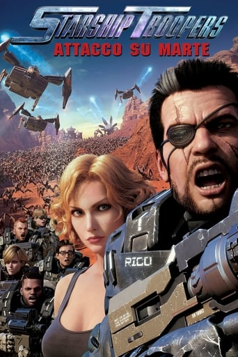 Cartoni animati Starship Troopers: Attacco su Marte - Starship Troopers: Traitor of Mars