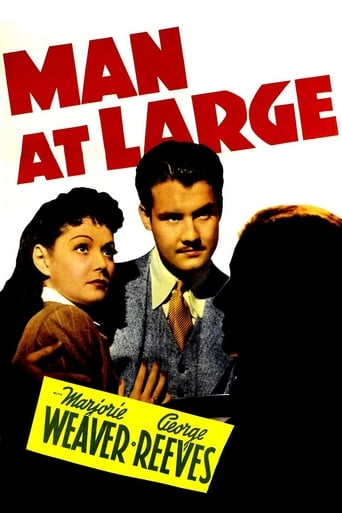 Poster of Man at Large