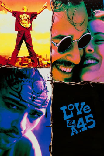 Poster of Love and a .45
