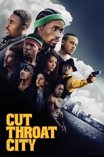 Poster of Cut Throat City