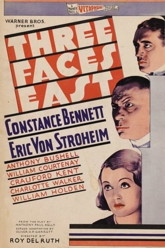 Poster of Three Faces East