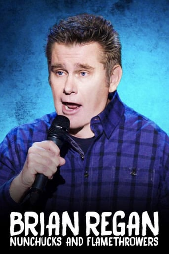 Poster of Brian Regan: Nunchucks and Flamethrowers