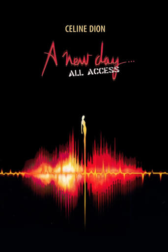 Céline Dion: A New Day - All Access Movie Poster