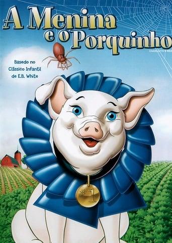 A Menina e o Porquinho - Poster