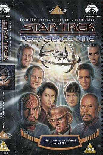Poster of Star Trek: Deep Space Nine: What You Leave Behind