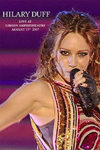 Poster of Hilary Duff: Live at Gibson Amphitheatre - August 15th 2007