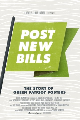 Poster of Post New Bills: The Story of Green Patriot Posters