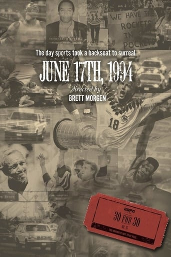 June 17th, 1994 poster