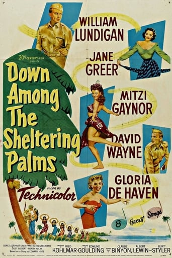Poster of Down among the Sheltering Palms