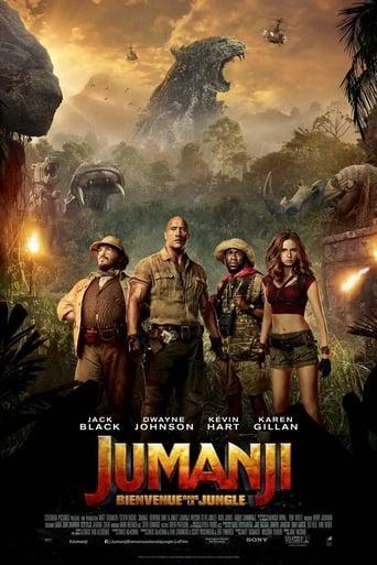 Poster of Jumanji, Bienvenue dans la jungle