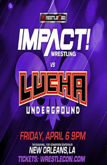 Poster of Impact Wrestling vs. Lucha Underground 2018
